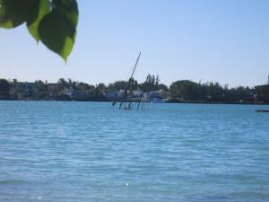 sunken isla mauricia